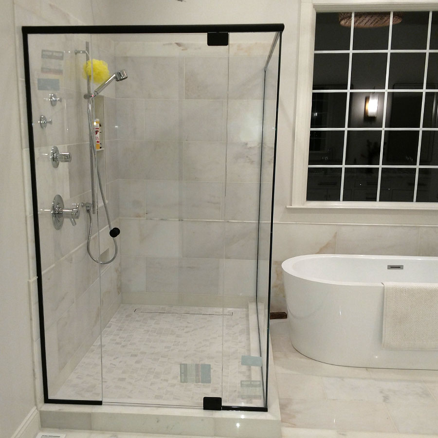 Black Frame Shower Enclosure