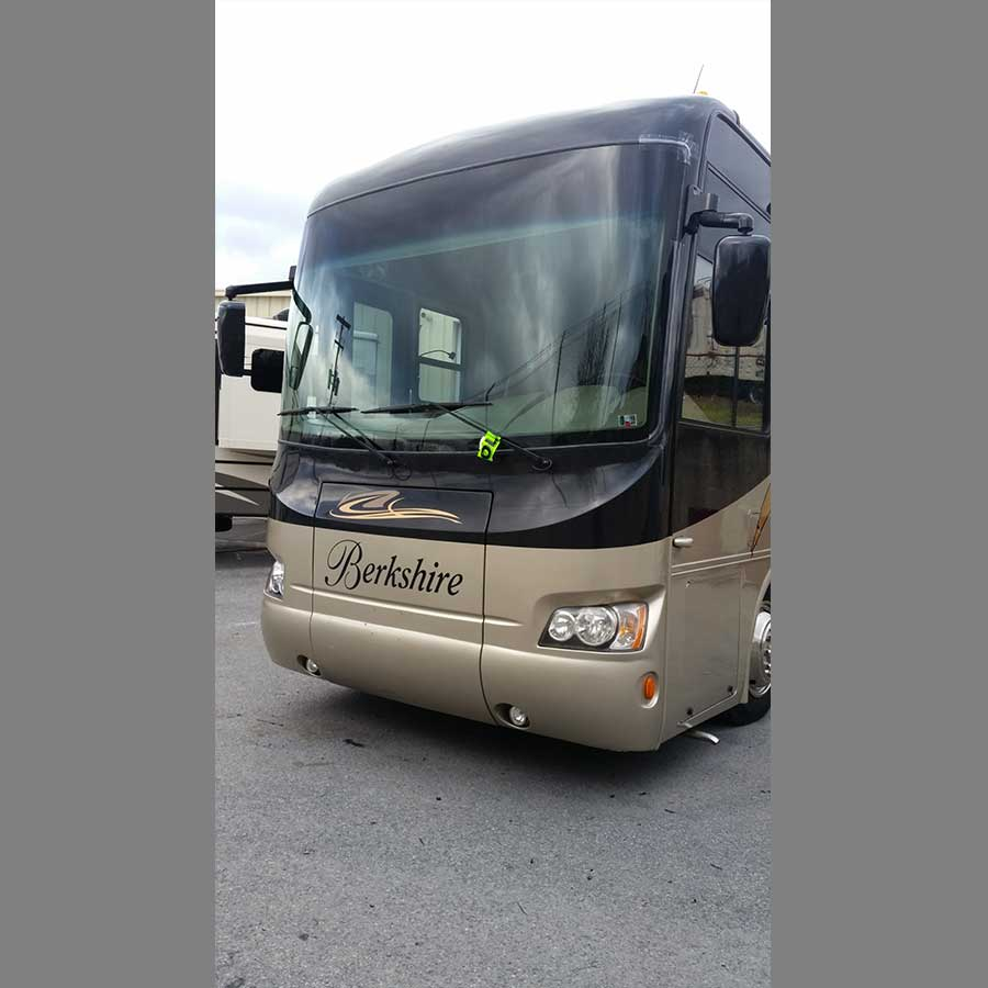 Large RV Windshield Replacement
