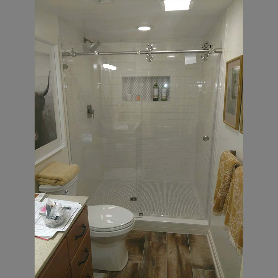 Rounded Bar Shower Enclosure