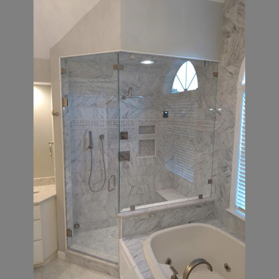 Custom Shower Enclosure Corner Glass